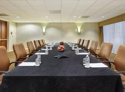 Van Buren Meeting Room - Boardroom