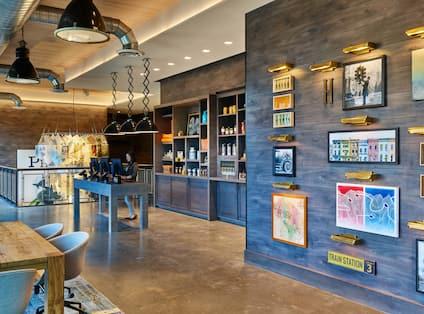 Reception Area in Lobby