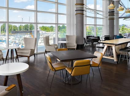 Canopy Central Dining Area