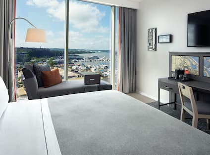 King Guest Room with river view