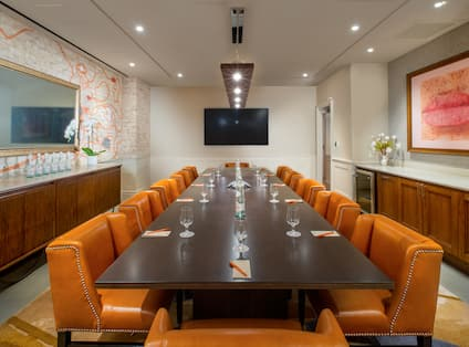 Foreign Affairs Meeting Room with HDTV