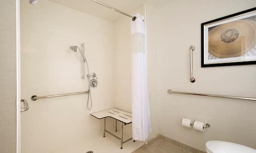 Roll In shower