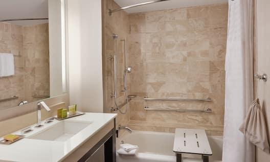 Accessible Bathroom with Tu