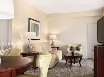 Capital Suite Living Room