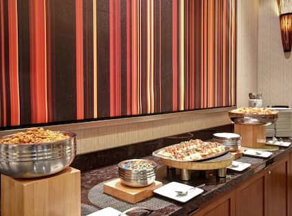 Evening Reception Snack Spread
