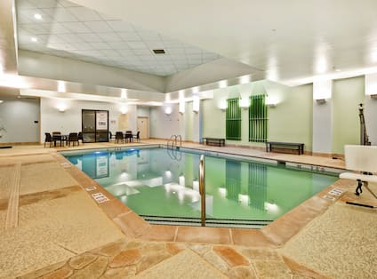 Indoor Pool with Accessible Lift Chair