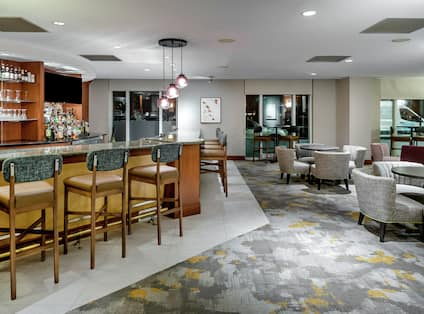 Bar Area with Seating