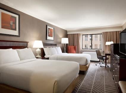 2 Double Bed Deluxe Guest Room