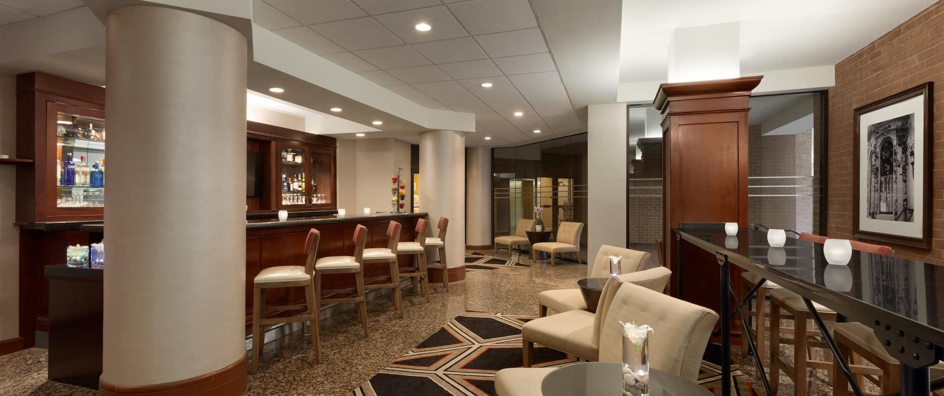 Lounge at Dan and Brad