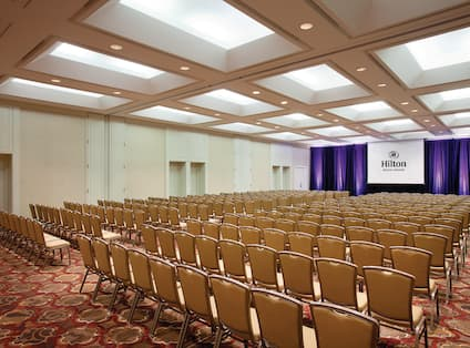 Grand Ballroom with Theater Seating