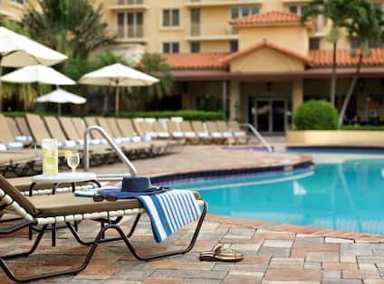 Poolside at Embassy Suites