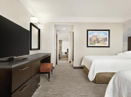Two Room Suite with Two Double Beds