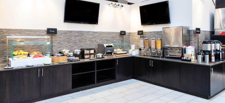 breakfast area counter