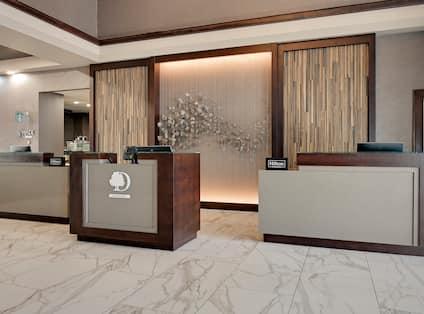Lobby Front Desk