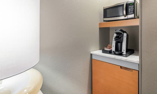 Guestroom Kitchenette with Room Technology