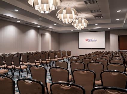 Rainier Meeting Room with Theater Setup