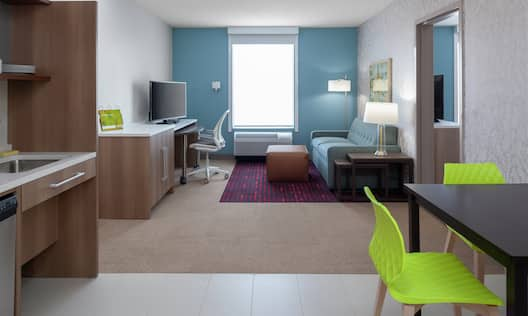 Accessible Guest Living Room