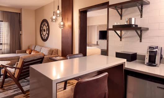 Suite Dining and Living Area