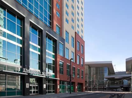 Embassy Suites Denver-Downtown/Convention Center Hotel, Co - Hotel Exterior