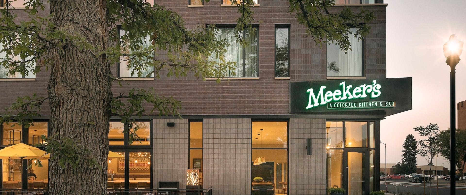 Meeker's Restaurant Outside Entrance