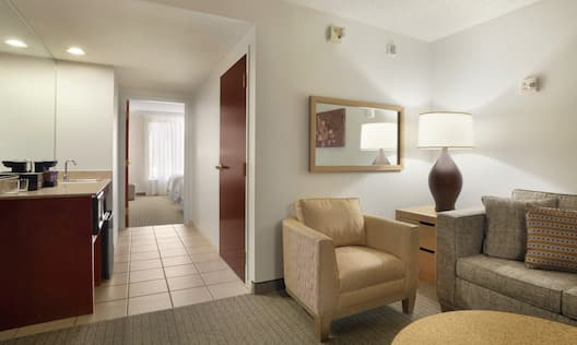 Mobility/Hearing Accessible One Bedroom - Double Beds