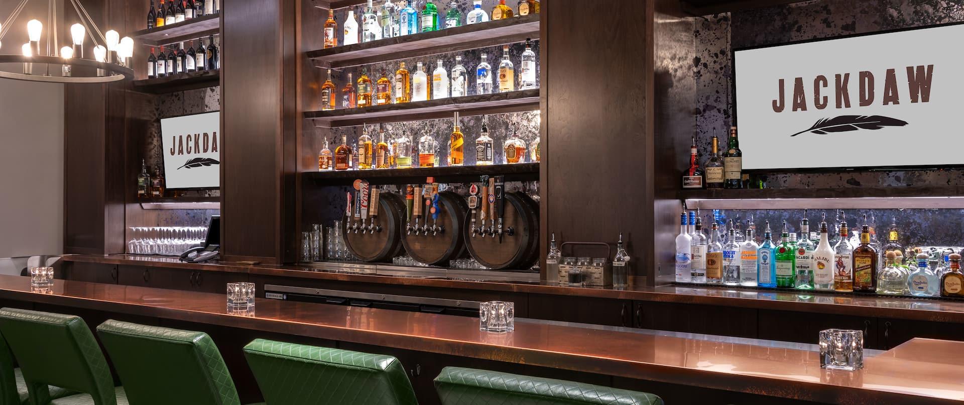 Jackdaw Bar Area with Seats