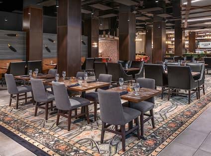 Jackdaw Restaurant Dining Area