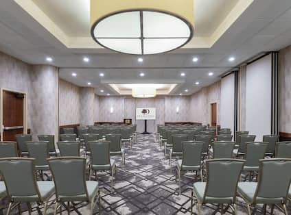 Theater Set up Style Meeting Room