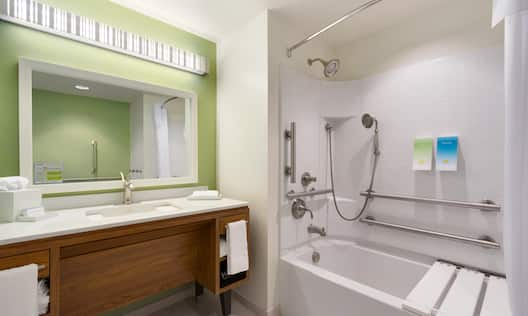 Accessible Bathroom Tub Shower