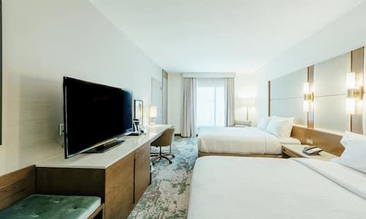 Double Queen Guestroom Bedroom