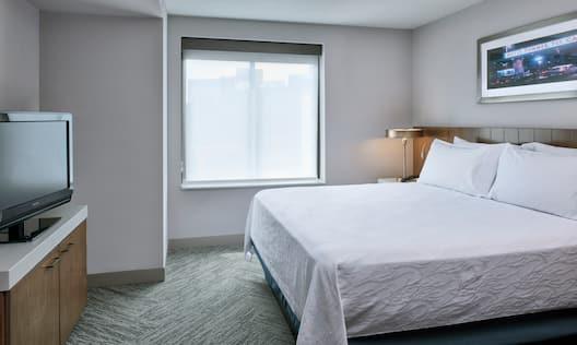 Hilton Garden Inn Detroit Downtown Hotel, MI - King Junior Suite