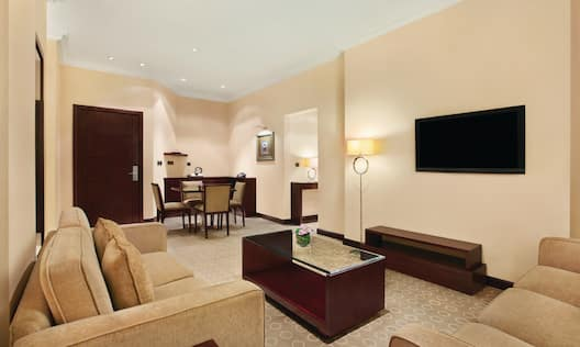 King Two-Bedroom Suite Living Area