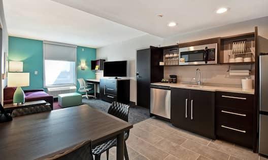 Guest Suite Kitchen Area