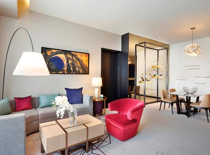 Executive King Suite, Living Area