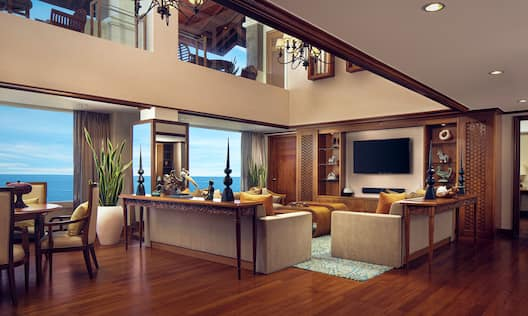 Presidential Suite Living Room Space