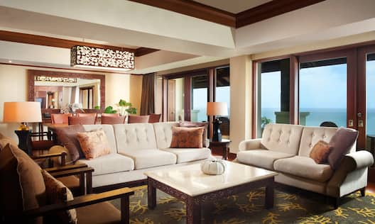 Two Bedroom Royal Suite Living Room