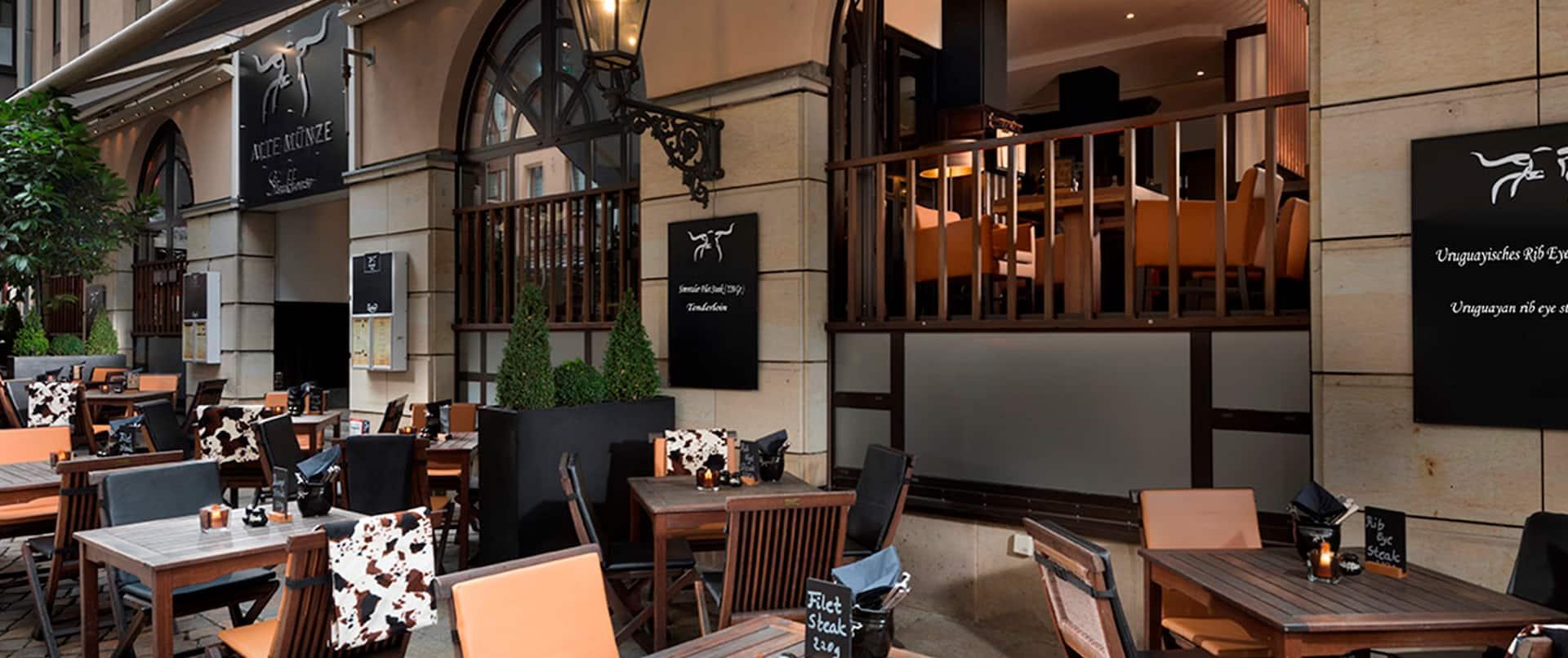 Steakhouse Alte Münze Terrace