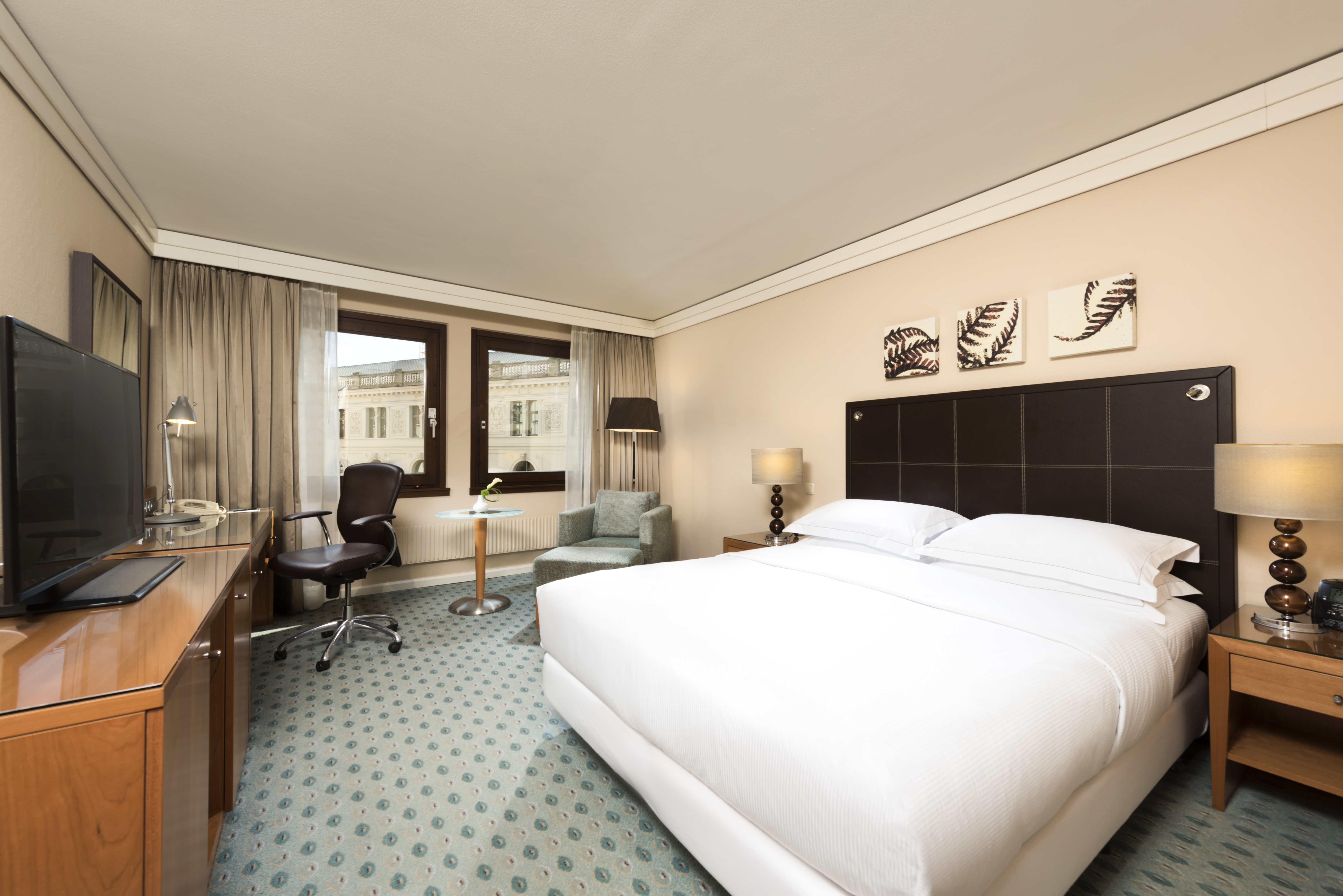Queen Hilton Executive Room