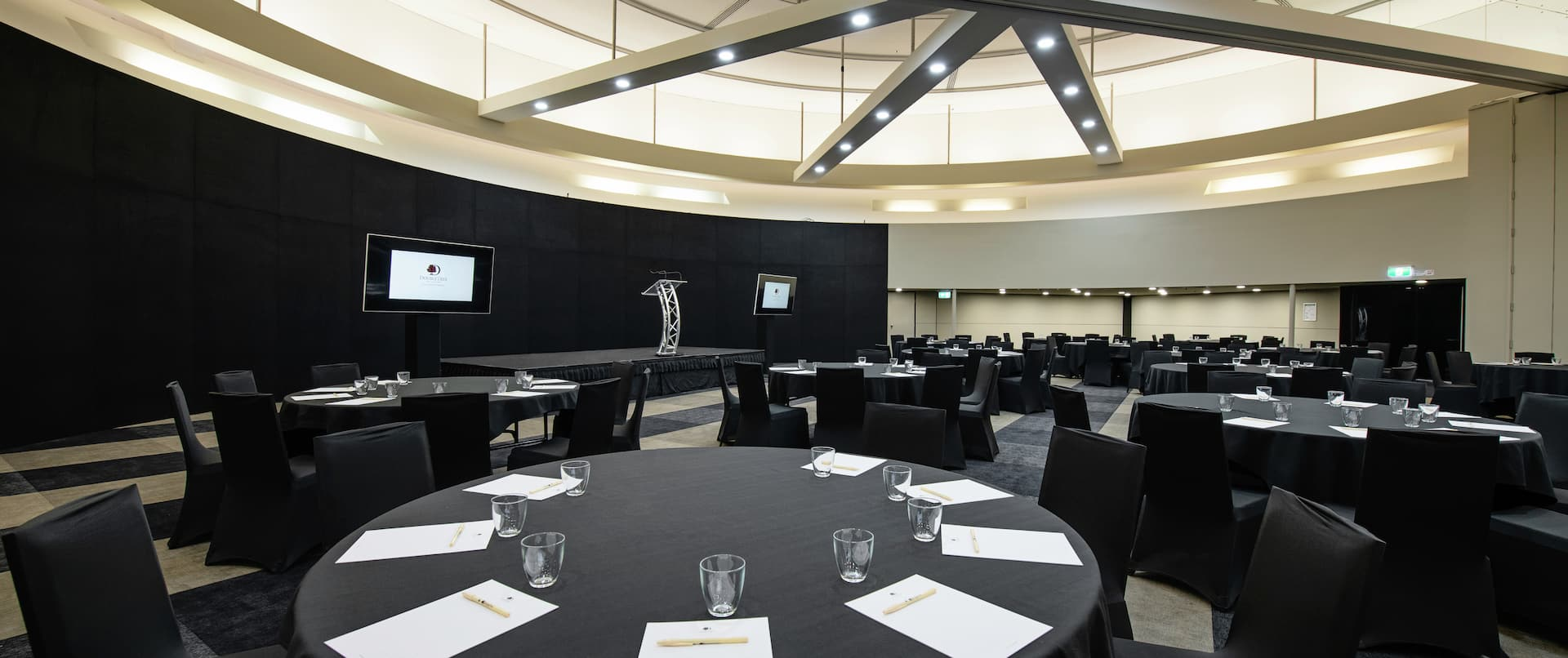 Grand Ballroom with Meeting Room Setup