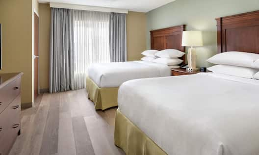 Suite with Double Queen Beds