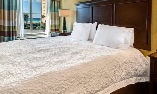 Room with Bed and Gulf View