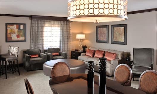 Herbert Hoover Presidential Suite Living Room