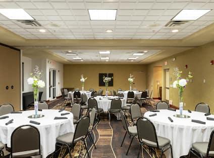 Cypress Room Event Setup