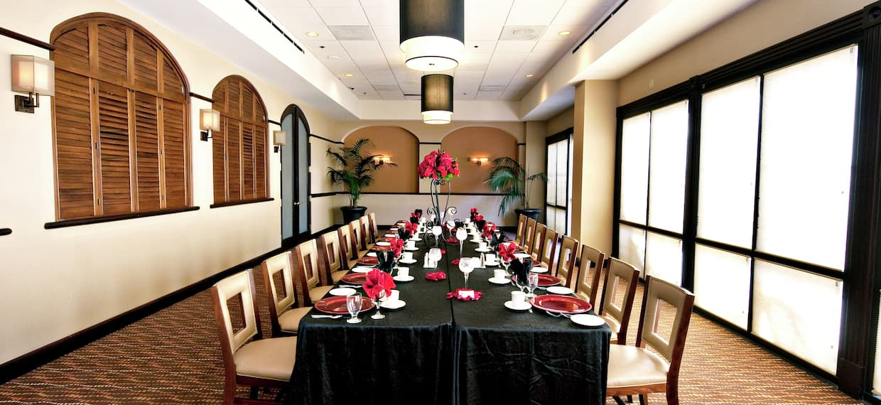 Dining Room with Long Table