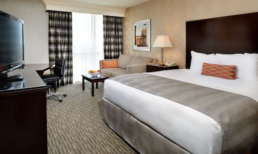 1 King Bed Guest Room
