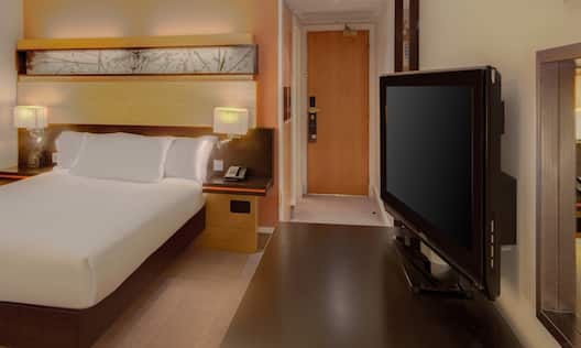 Guest Room with a Double Bed and HDTV
