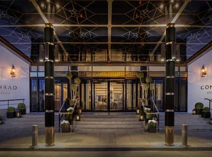 Conrad Dublin Hotel Entrance