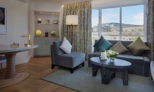 Conrad One Bedroom Suite Lounge