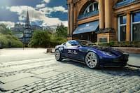 Aston Martin Parked at Waldorf Astoria Edinburgh - The Caledonian