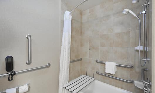 Accessible Shower Tub